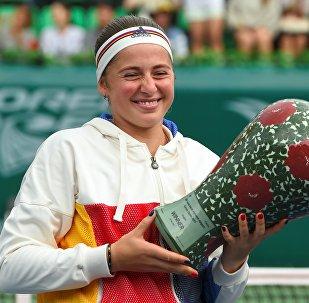 Елена Остапенко выиграла турнир в Сеуле