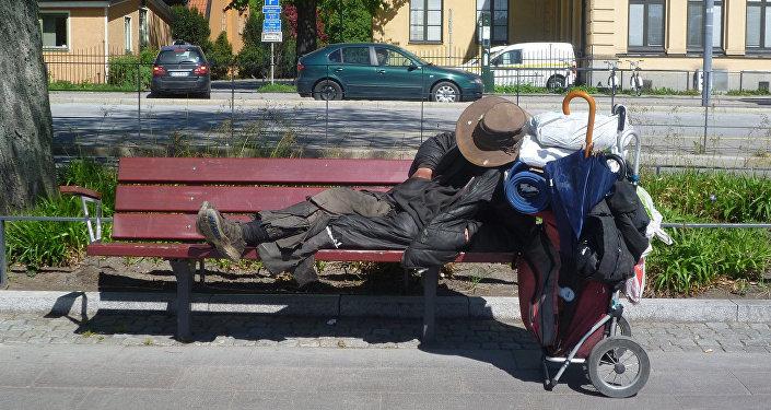 Бездомный