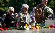 День освобождения концентрационного лагеря Саласпилс