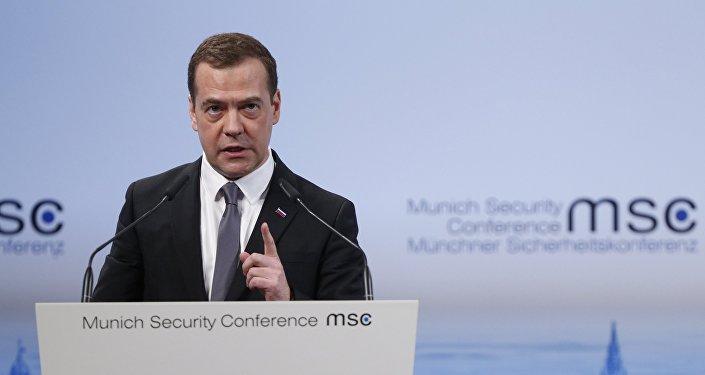 KF premjerministrs D.Medvedevs piedalījās Minhenes drošības konferencē