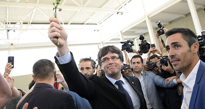 Katalonijas valdības vadītājs Karless Pudždemons