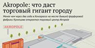 Akropole: что даст торговый гигант городу