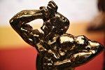 Статуэтка бронзового Орфея на церемонии вручения телевизионной премии ТЭФИ