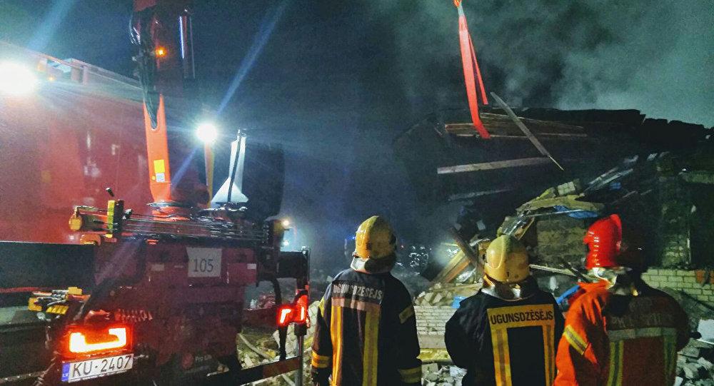 При взрыве вжилом доме вЛатвии погибли 5 человек