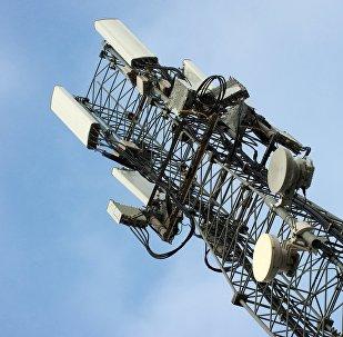 Вышка мобильной связи стандарте LTE