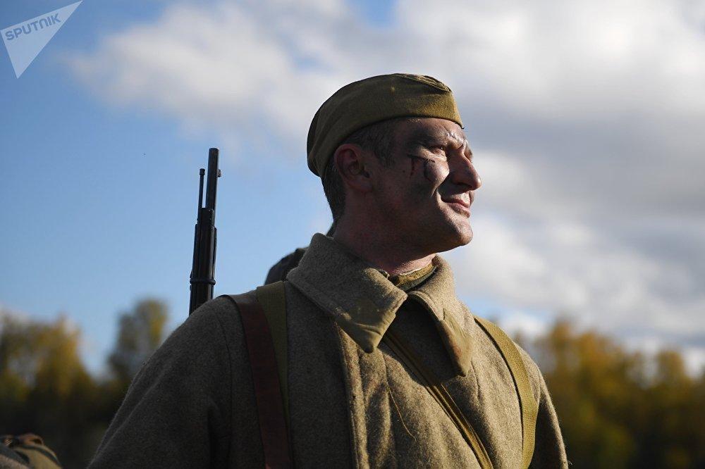 Военно-исторический фестиваль Москва за нами. 1941 год