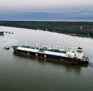 Gāzes transporta kuģis ved pirmo SDG kravu uz Lietuvu