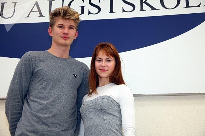 Раймондс Пуга и Екатерина Иванченко понесут флаг Латвии на параде в Москве