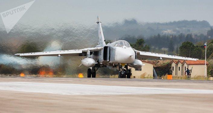 Krievijas GKS bumbvedējs Su-24