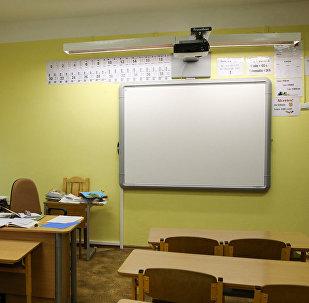 Klases telpā. Foto no arhīva
