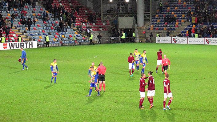 Матч Латвия – Андорра на стадионе Сконто, 10 октября, Рига