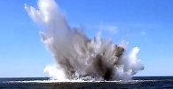 Latviešu ūdenslīdējs meklē mīnas Baltijas jūrā