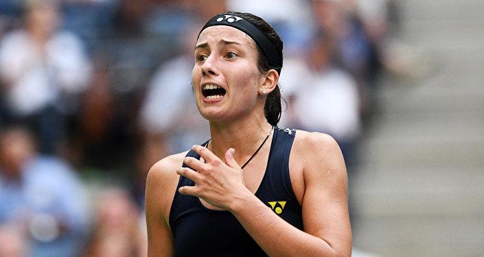 Теннисистка Анастасия Севастова