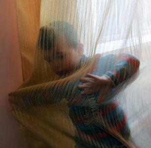 Bērnunama audzēknis. Foto no arhīva