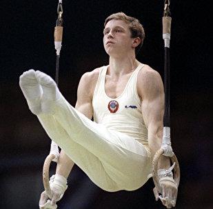 Гимнаст Виталий Щербо, 1991 год