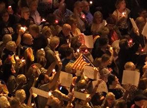 Katalonija atbildējusi uz līderu arestiem ar masveida akciju Barselonā