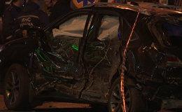 Кадры с места ДТП, унесшего жизни пятерых человек в Харькове