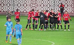 Матч Кубка Латвии по футболу между Рига и Лиепая/Мого