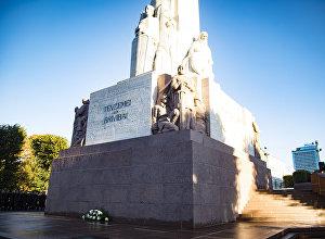 Памятник Свободы после реконструкции