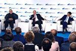 Владимир Путин о RT, Sputnik и про женщину-президента