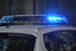 Мигалка на полицейском автомобиле