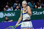 Теннисистка Елена Остапенко на итоговом турнире года в Сингапуре