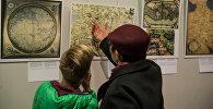 Выставка Армения на древних картах в Национальной библиотеке