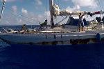 Спасение американок, пять месяцев дрейфовавших на яхте в Тихом океане