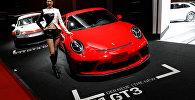 Купе Porsche 911 GT3 на автосалоне Tokyo Motor Show 2017