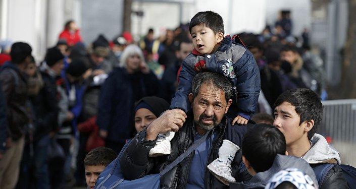 Bēgļi. Foto no arhīva.