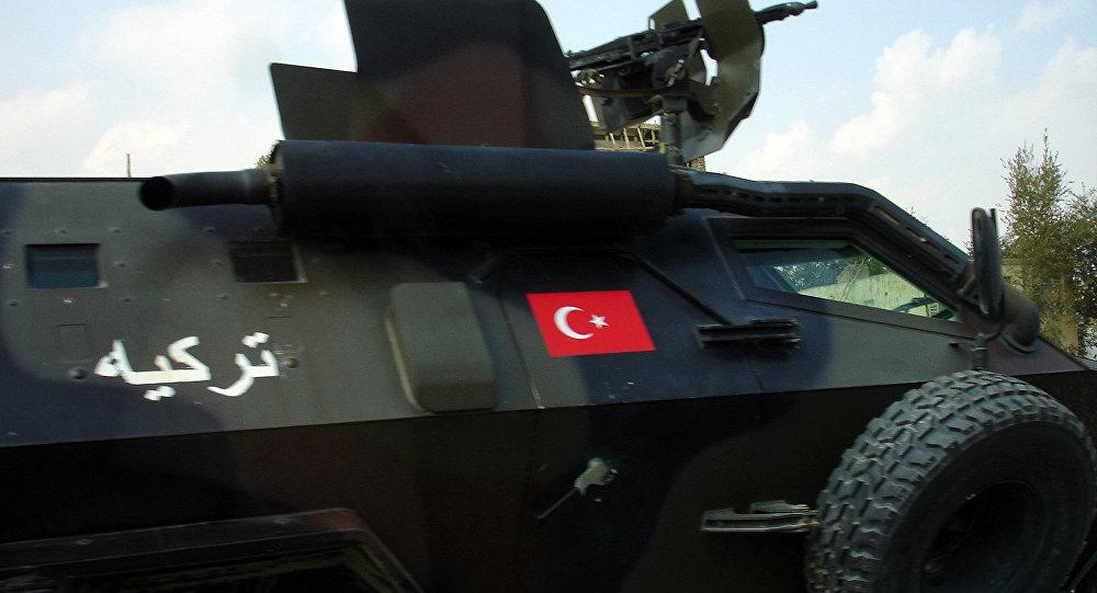 Turcijas armijas bruņumašīna. Foto no arhīva