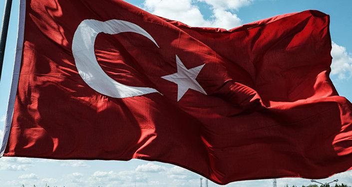 Turcijas karogs. Foto no arhīva