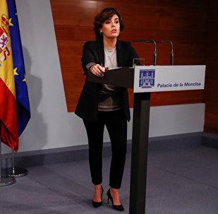 Marija Soraja Saensa de Santamarija Antonа, Spānijas valdības viceprezidente