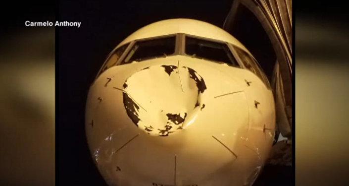 Самолет авиакомпании Delta в аэропорту Чикаго