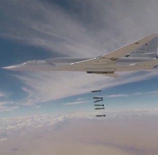 Krievijas GKS jaunie bumbvedēji izdarījuši uzlidojumu teroristiem Sīrijā
