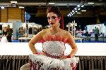 Конкурс причесок на выставке Baltic beauty