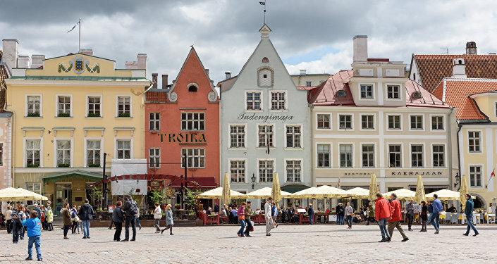 Ратушная площадь. Таллинн