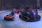 Бои роботов Бронебот в спортивном комплексе Юбилейный в Санкт-Петербурге