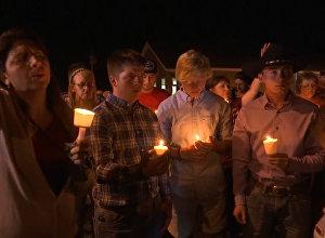 Teksasas upuru atceres ceremonija