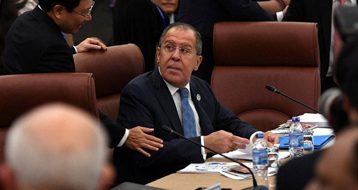Krievijas ĀM vadītājs Sergejs Lavrovs