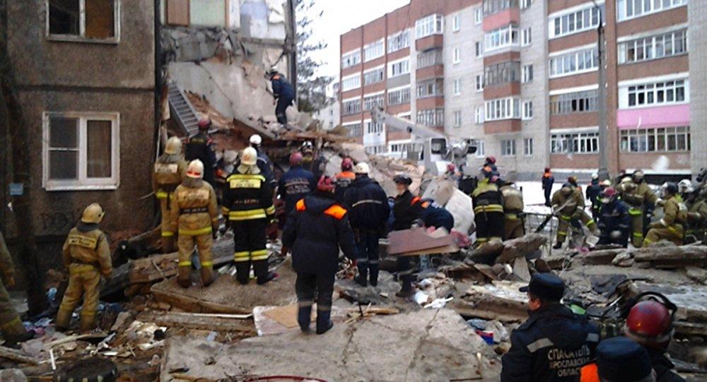 Dabasgāzes sprādziens Jaroslavļas pilsētas Frunzes rajonā