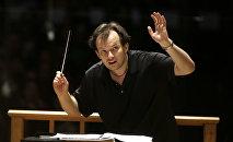 Latvijas diriģents Andris Nelsons. Foto no arhīva