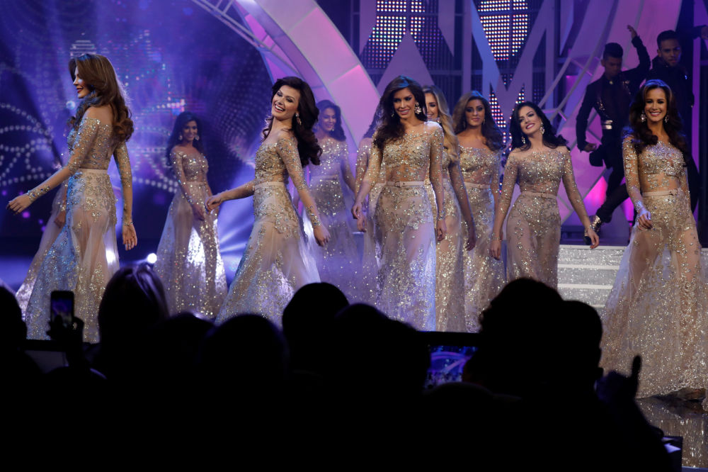 Skaistuma konkursa Mis Venecuēla dalībnieces