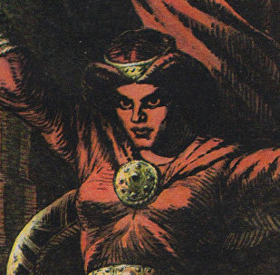 Spīdola - ragana. eposa Lāčplēsis varone