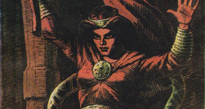 Спидола - ведьма, героиня эпоса о Лачплесисе