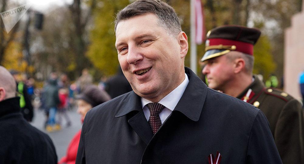 Latvijas prezidents Raimonds Vējonis