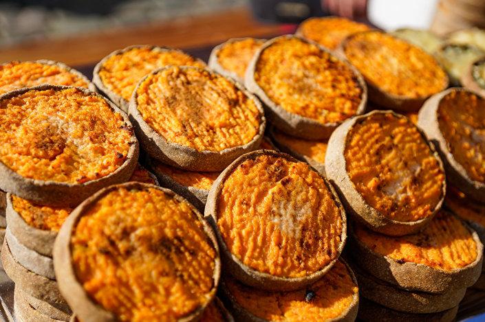 Латышские национальные пирожки скландраусисы