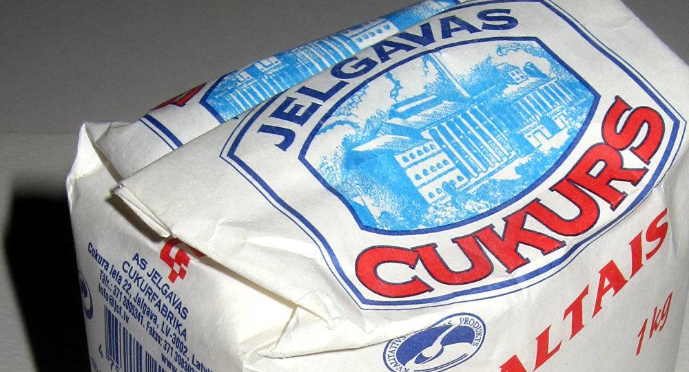 Упаковка латвийского сахара