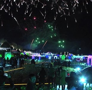 Šovs 4D formātā: Dienvidkorejā startē gaismas festivāls