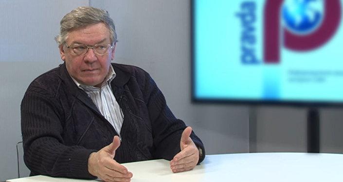Доктор экономических наук Владимир Васильев